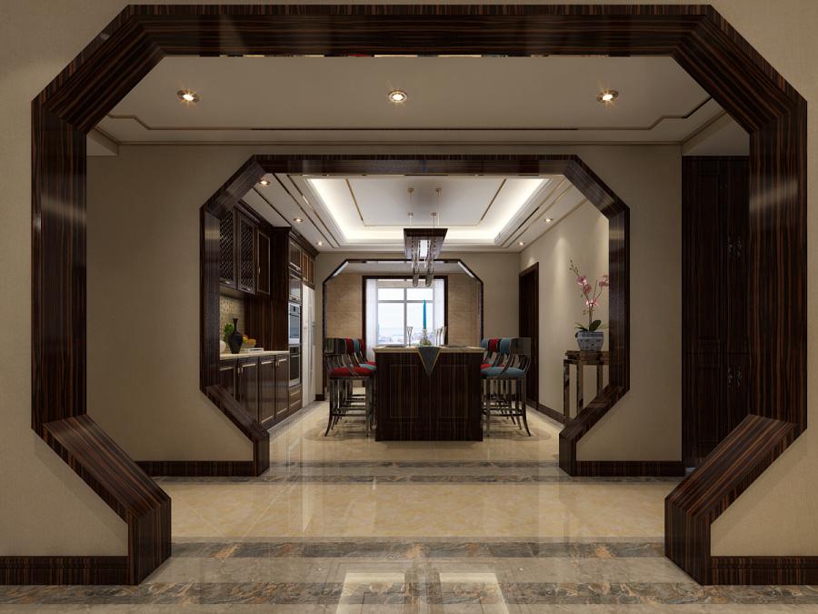 石家庄三室两厅新中式风格装修哪家性价比高