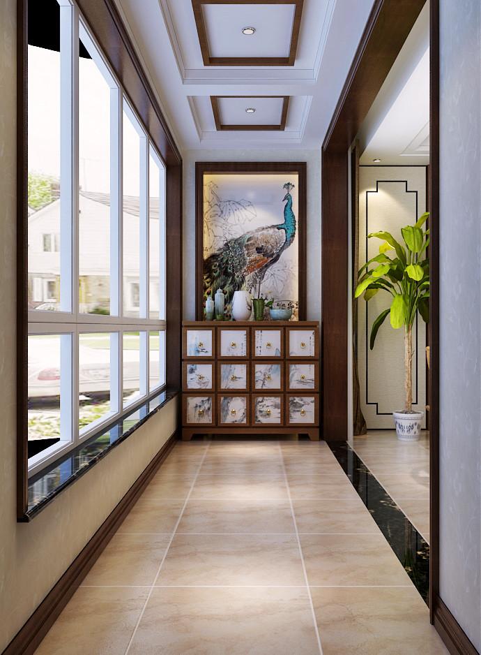 石家庄两室一厅装修江南新城中式风格选哪家图片