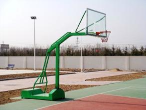 NBA比赛专用篮球架选用的什么材质和型号