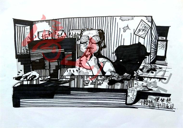 室内手绘技法(室内),手绘的基本语法,手绘工具(彩铅,马克笔 淡彩)