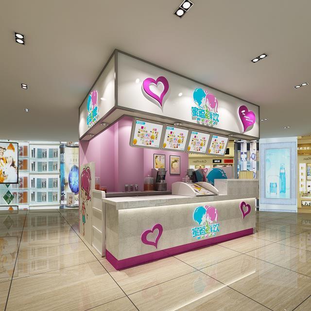 江苏加盟奶茶店怎么做店面装修