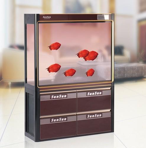 森森鱼缸汇龙鱼缸彩蝶鱼缸海水缸水草缸-宠物