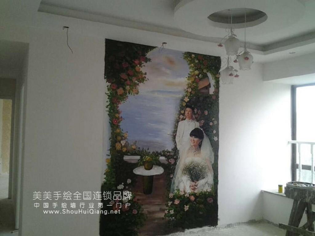 家装手绘墙,美美手绘作品赏析
