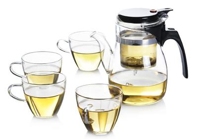 郸公司提供透明玻璃茶具价格 规格