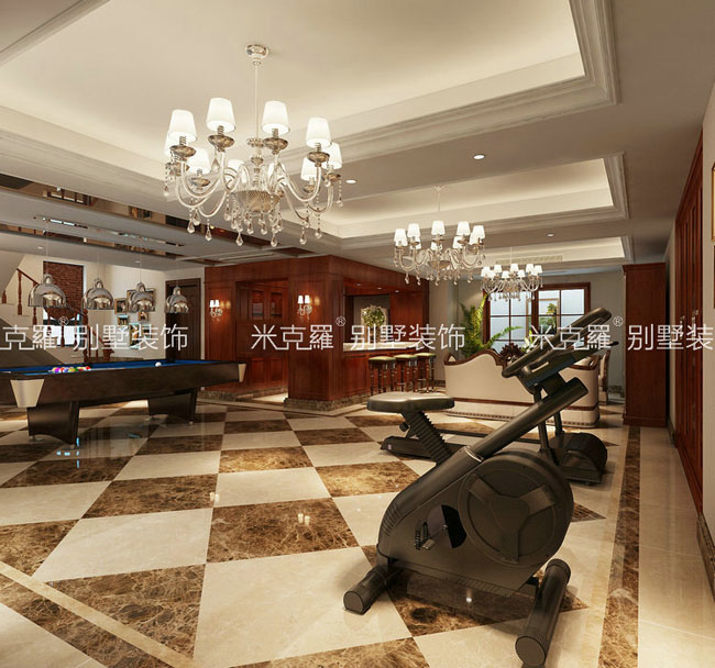 欧式别墅装修效果图|米克罗高端别墅装修设计|别墅装修设计