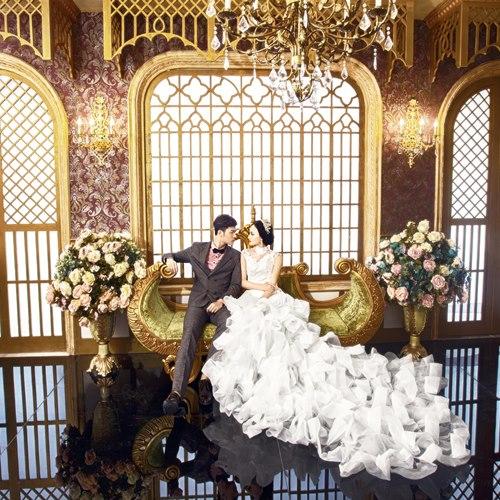 新都区欧式婚纱照外景拍摄推荐米兰婚纱图片