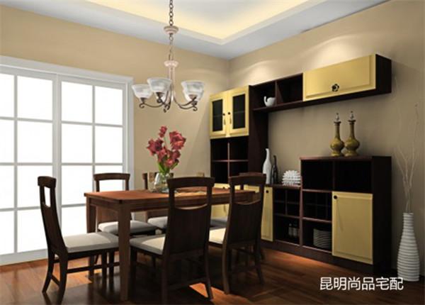 尚品宅配:简欧风格的餐边柜应该如何做?图片