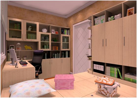 例如可以和衣柜,书桌,电视柜等相结合,功能齐全,现在越来越多的人装修图片