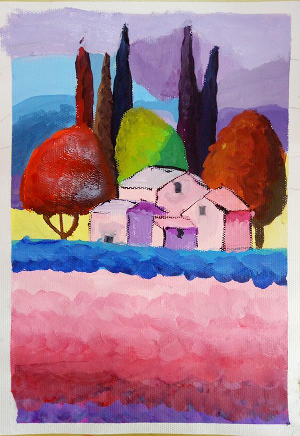 儿童学画画学什么兰州绘画学校儿童画画班可以教儿童学水粉画吗
