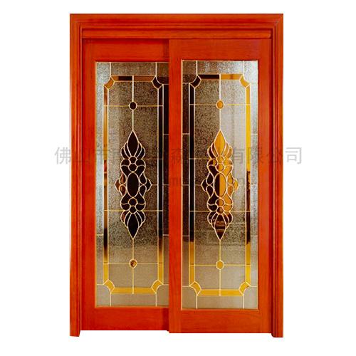 欧式时尚玻璃门,厨房吊趟镶嵌玻璃门