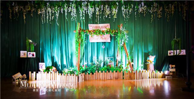 南京森系主题婚礼婚礼布置 高端婚礼策划 美雯婚庆