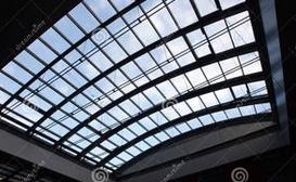随着我国建设事业的发展,大量民用建筑的建造,各种类型的玻璃采光顶
