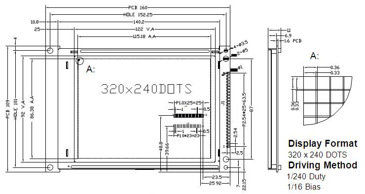 16080液晶屏|液晶显示屏|lcd