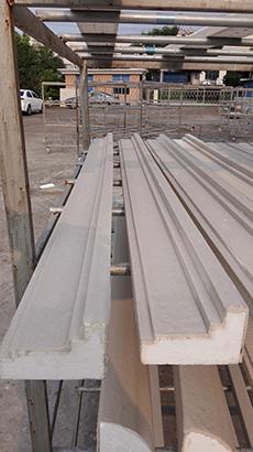 磐安外墙花板EPS泡沫线条生产商,绿建建材图片