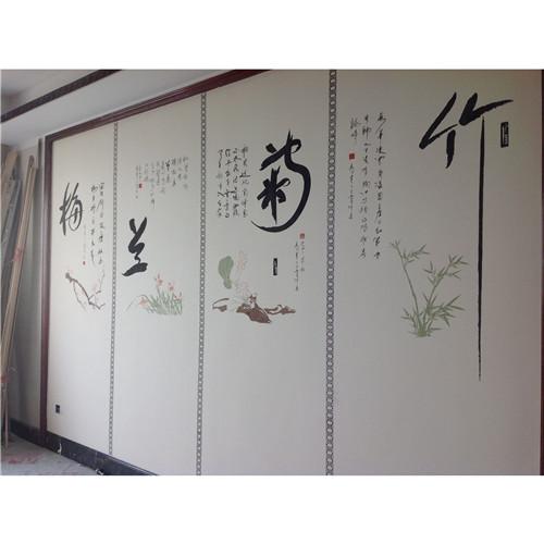 一抹书香,品位高雅的中式装修往往会采用大量实木材料,硅藻泥呼吸调湿