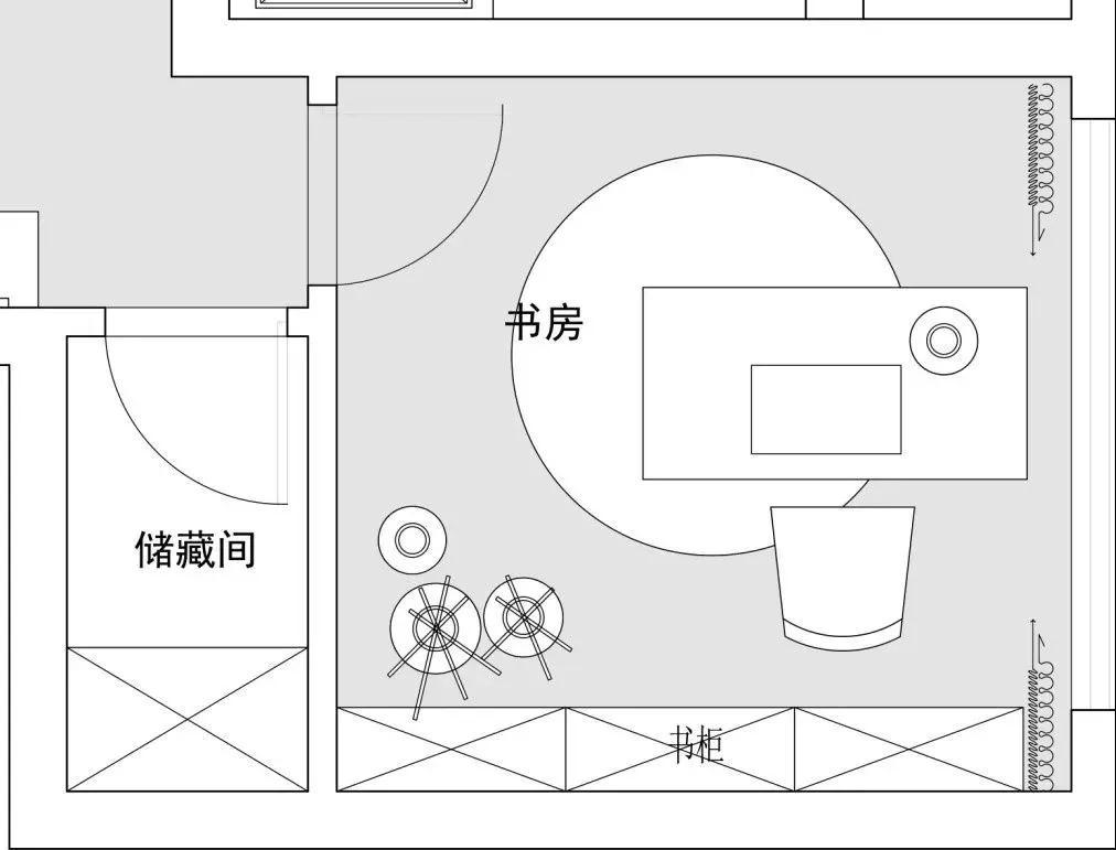 精装修户型解析-金隅紫金府,一个书房,10种方案设计