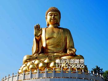 山西专业铜佛像设计制作运输安装 方能雕塑