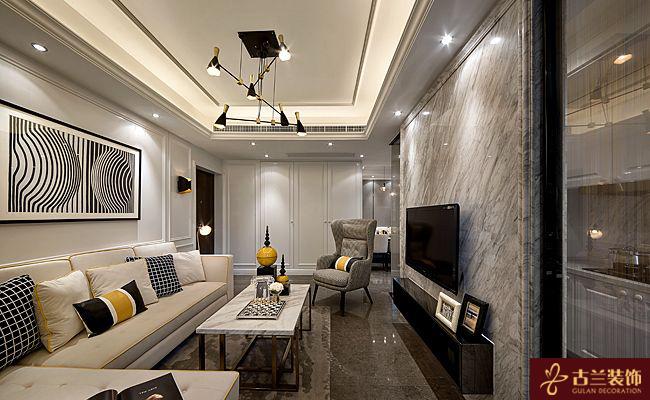 南京两室一厅老房装修设计