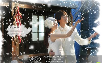 2014最新婚纱摄影造型与您分享