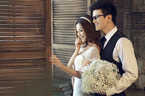 男士拍婚纱照什么发型好?图片