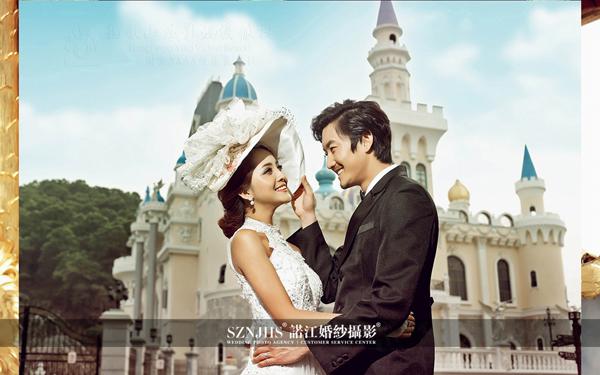 诺江婚纱摄影五大内景之皇家古堡--唯美奢华风