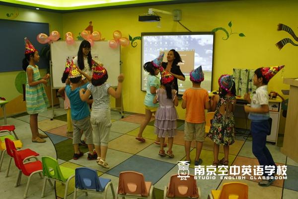南京奥体少儿英语教育培训哪家好 小班教学
