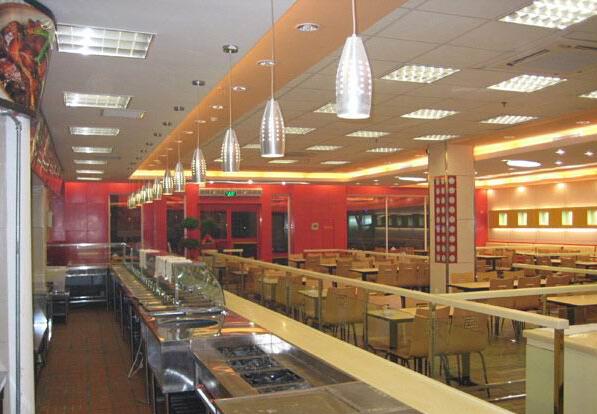 南京中式快餐店装修图片
