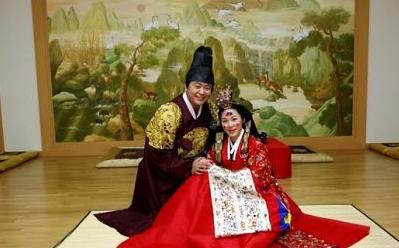"""南京/中国""""大长今""""韩式婚礼:"""