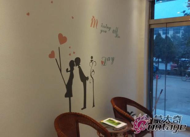 秀色可餐的硅藻泥餐厅背景墙