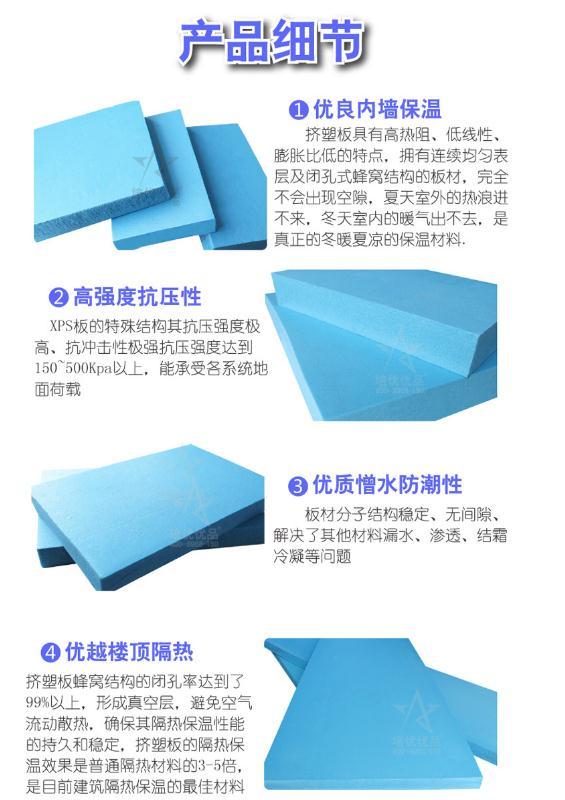 呼和浩特挤塑板生产厂家 鹏宇保温材料厂