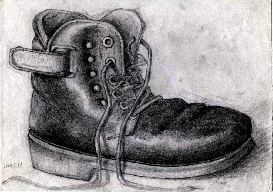 马素描铅笔画步骤