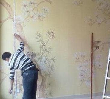【佛山苹果装饰】教你自己动手贴墙纸