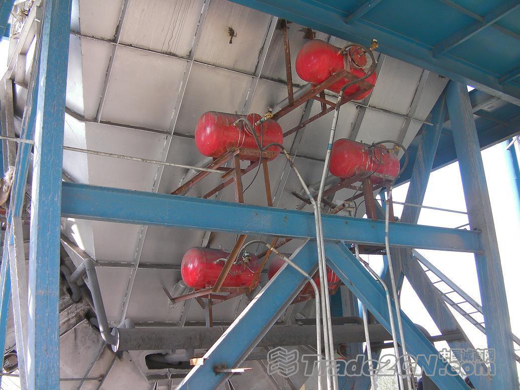 预热篦冷机水泥厂空气炮