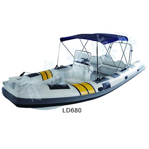 山东威海加厚橡皮艇厂家直销 龙德船艇制造行业佼佼者