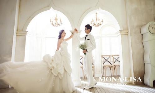 城阳婚纱摄影排名前十强青岛蒙娜丽莎婚纱摄影有限公司会给每位拍过图片