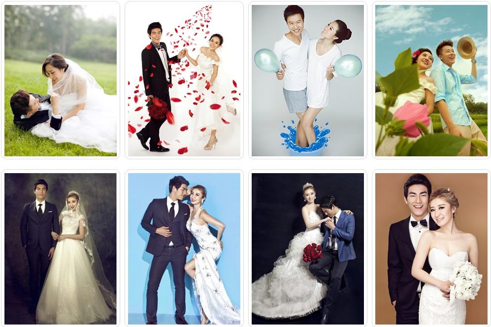 青岛婚纱摄影价位,青岛拍婚纱照价格2014最佳选择
