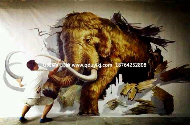 胶州手绘壁画