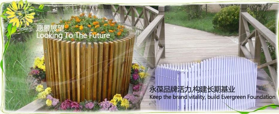 我们的 青岛防腐木花架木头的材质,取自自然的特性,让廊架,围栏在阳台
