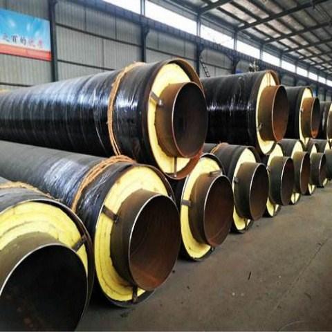 六盘水蒸汽复合保温管特性及优点