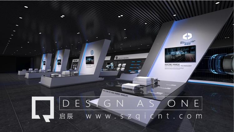深圳启辰展览展厅设计案例:遵义新能源汽车产业园项目