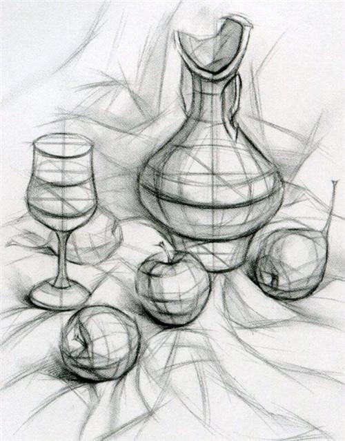 企业资讯  素描:石膏几何体,静物,石膏像,人物头像及半身像,素描默画