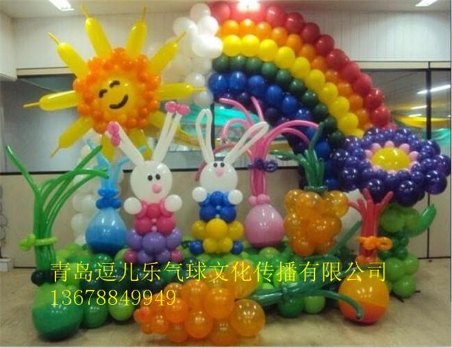 幼儿园六一节舞台装饰幼儿园教室布置