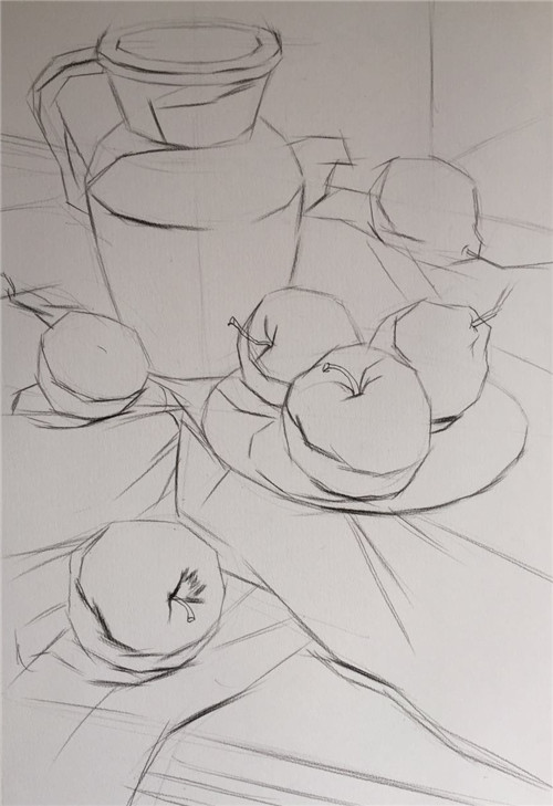 简笔画 手绘 素描 线稿 500_729 竖版 竖屏