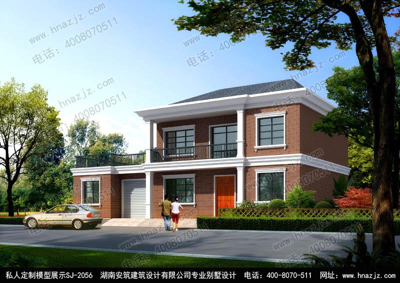 株洲农村90平方米小别墅设计图?高品质设计