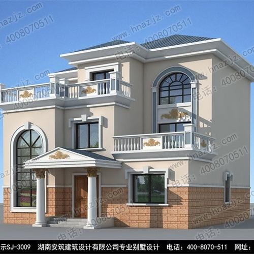 湖南安筑别墅设计