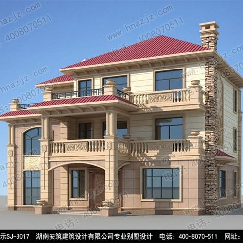 长沙专业2层别墅设计图哪里可以买到_湖南安筑建筑设计