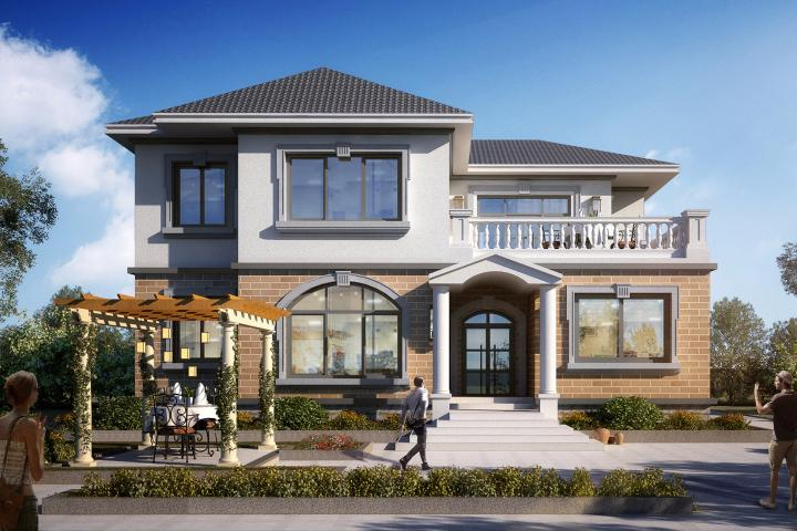 推荐:5套新农村自建房设计图,2018年最新设计