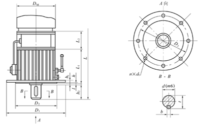 冀桥星-优质ngw-l立式行星齿轮减速机
