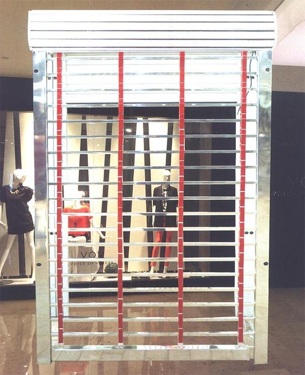 东制造加工优质不锈钢红钛方管卷帘门企业