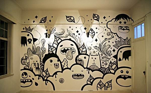 长沙睿犀手绘墙给您解答!